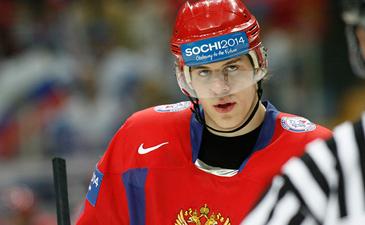 Российский хоккеист Евгений Малкин
