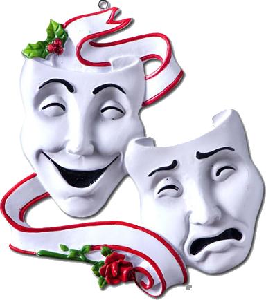 Лого театральная маска