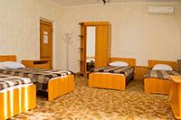 Корпус 2, комната 1, 1-й этаж, ДОЛ им. Ю. А. Гагарина, Евпатория